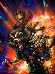 Rocket Raccoon and Groot_Let's go to the cinema