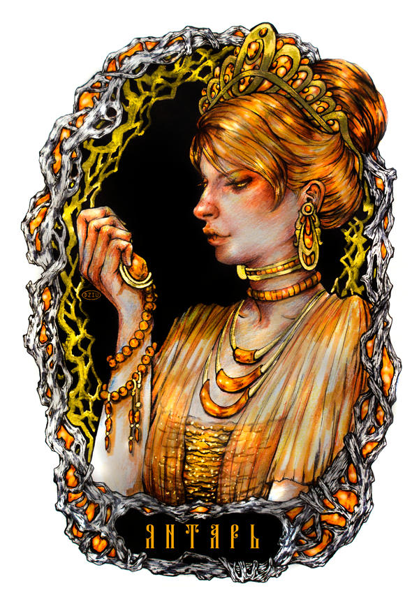 Lady Amber by DZIU09