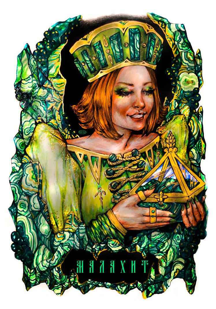 Lady Malachite by DZIU09