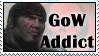 GoW Addict Stamp by PsycoticNeko
