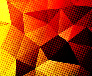 Jelly Bean Triangle Wallpaper Comic Book Style