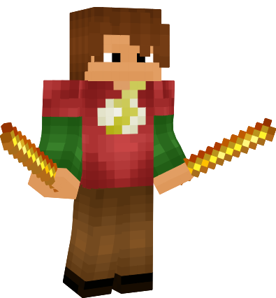Boy with Flash Tshirt (BETTER IN PREVIEW) Minecraft Skin