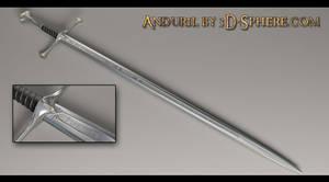 Anduril, sword of Aragorns