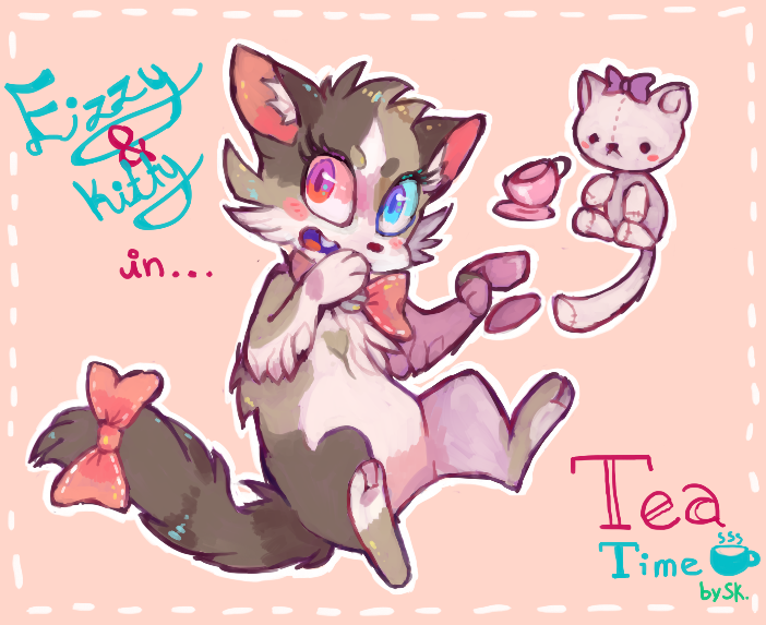 Tea time by chickenmcfuckit