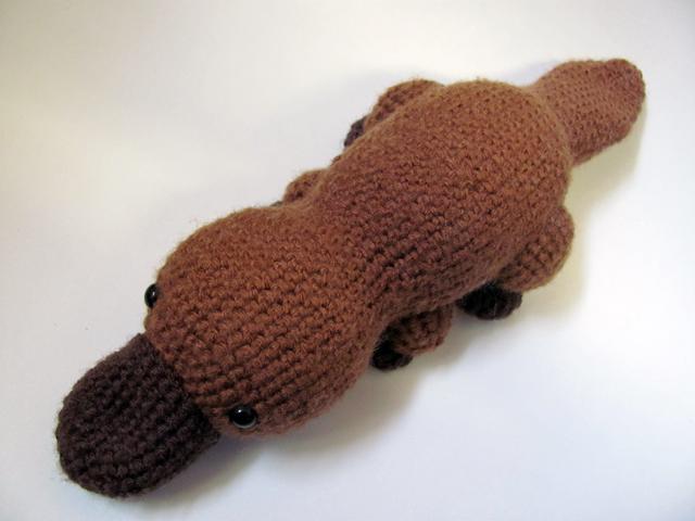 Amigurumi Platypus 1 by MevvSan