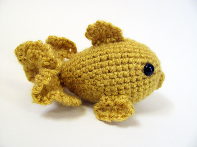 Amigurumi Goldfish : Amigurumi Goldfish 1 by MevvSan on DeviantArt