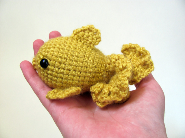 Amigurumi Goldfish 4 by MevvSan on DeviantArt