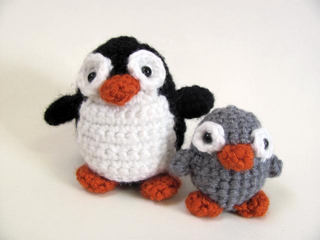 Amigurumi Penguin Crochet : Amigurumi penguin by mevvsan on deviantart
