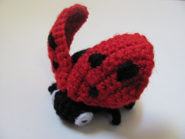 Amigurumi Ladybug : Amigurumi Ladybug 3 by MevvSan on DeviantArt
