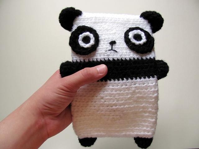 Amigurumi Crochet Panda : Amigurumi Panda Case 1 by MevvSan on DeviantArt