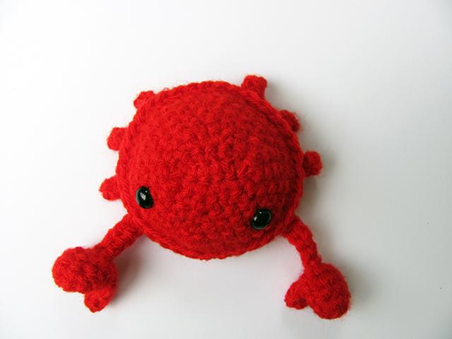 Amigurumi Crab : Amigurumi Crab 3 by MevvSan on deviantART