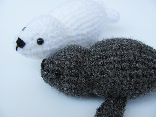 Puck – Baby Seal Crochet Pattern – Drunken Aunt Wendy | 480x640