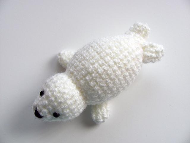 Amigurumi Baby Seal 4 by MevvSan on DeviantArt