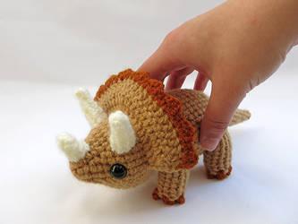 Triceratops by MevvSan
