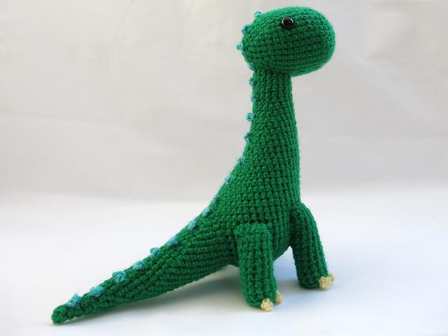 Amigurumi Brachiosaurus Dinosaur 2 by MevvSan on DeviantArt