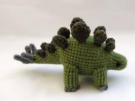 Amigurumi Stegosaurus Dinosaur 1 by MevvSan