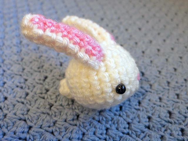 Amigurumi Mini Bunny : Amigurumi Mini Bunny 1 by MevvSan on DeviantArt