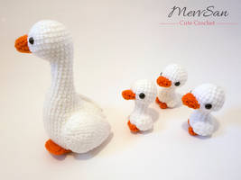 Amigurumi Goose 1 by MevvSan