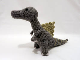 Amigurumi Spinosaurus Dinosaur 1 by MevvSan