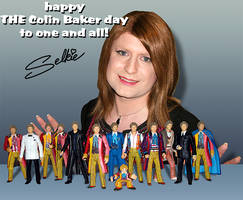 Happy THE Colin Baker Day by selkie-x