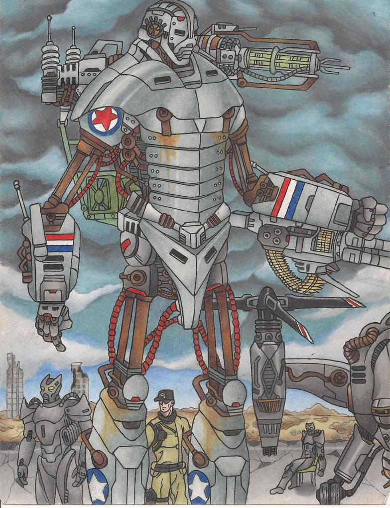 Liberty Prime By Raijin 1378