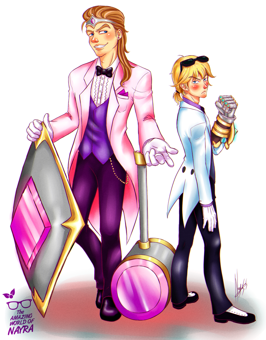 Debonair Taric and Ezreal by nay-only on DeviantArt