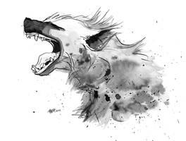 Hyena by AnKer-Illustration