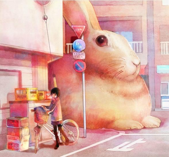 Rabbit by binosume