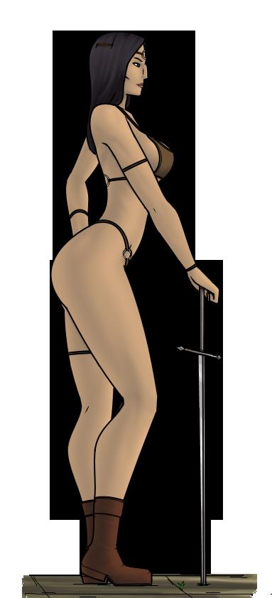 Lesbian warrior by zzerver