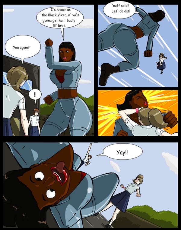 A comic strip about Alizia by zzerver