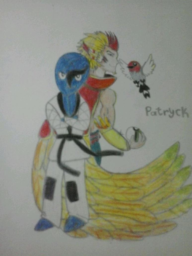 Rakan e seus pokemon by Patryckfr