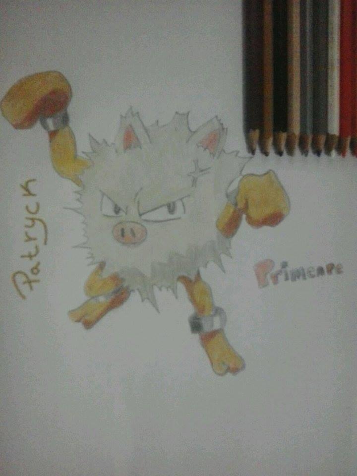 Primeape by Patryckfr