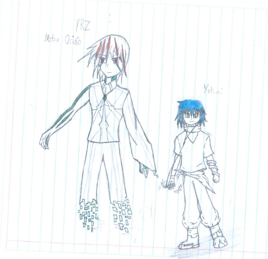 Bocetos de Nuevos personajes / Nueva historia !!!! by MCKohan