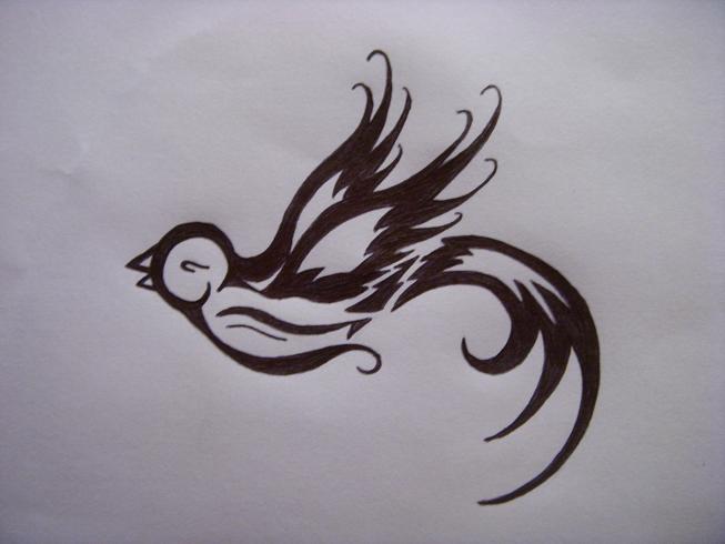love bird tattoo. love tattoos. Love bird