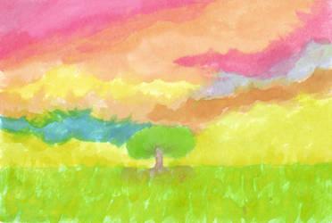 a world, the imaginary one by mynirvana