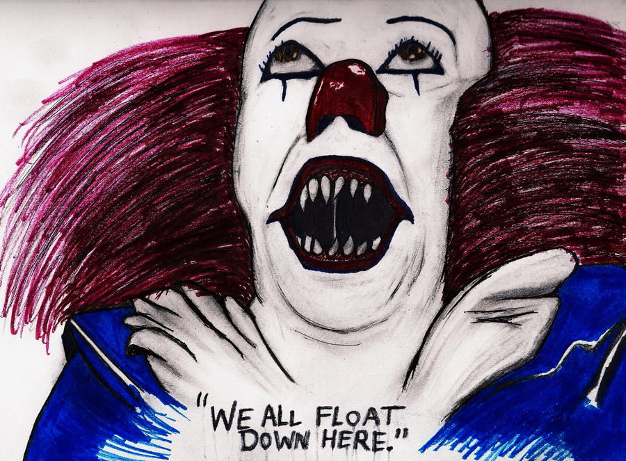 pennywise the dancing clown bob gray by sheepshears on pennywise the dancing clown bob gray by sheepshears