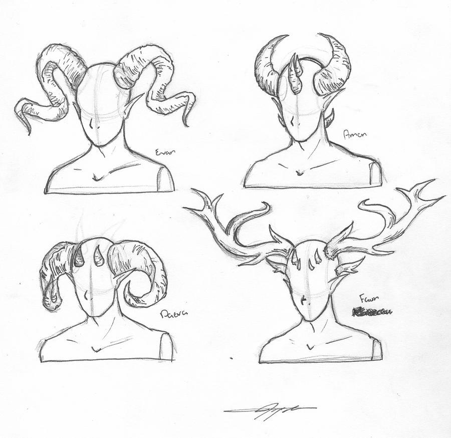 How To Draw Demon Body