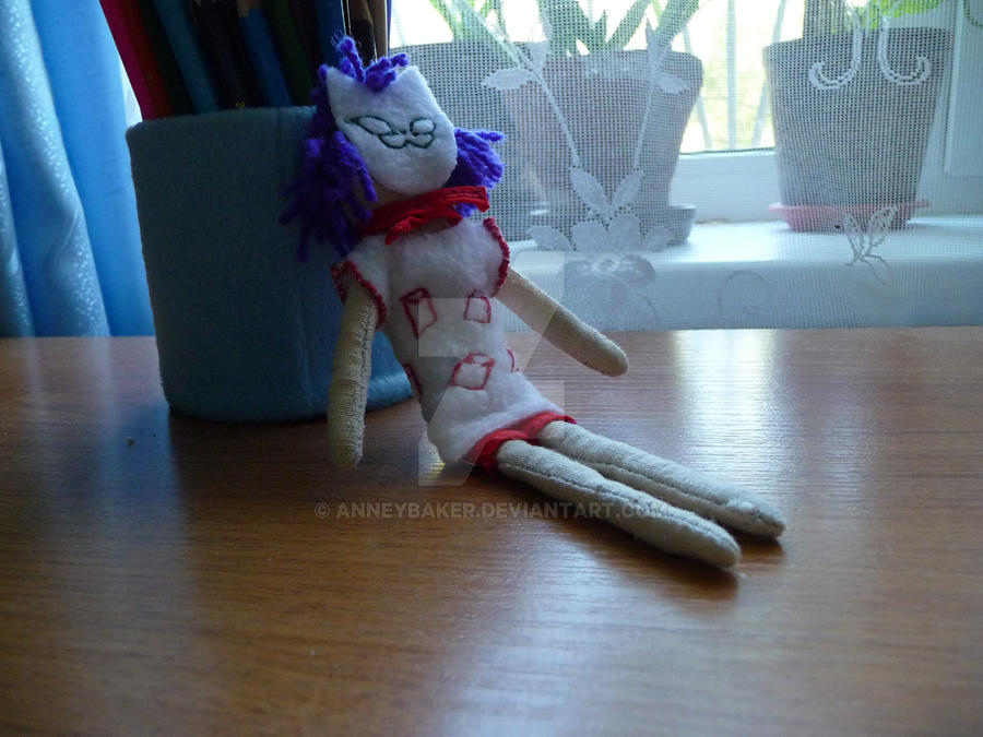 Handmade Phase 3 Noodle doll by AnneyBaker