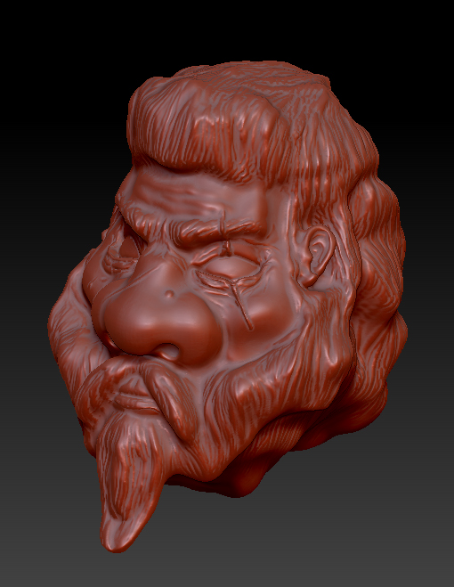 My First zBrush by Melepeta
