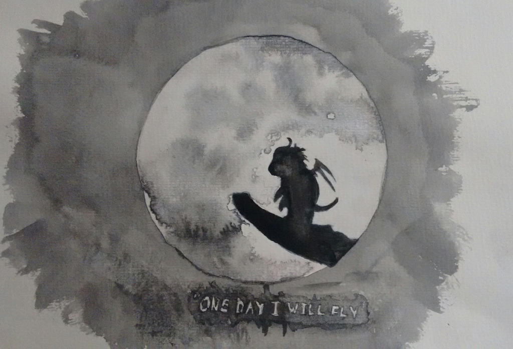 One day i will fly by Skopela