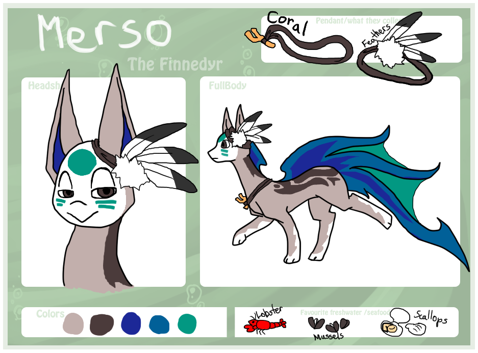 Merso the Finnedyr by Alavar-Randomity