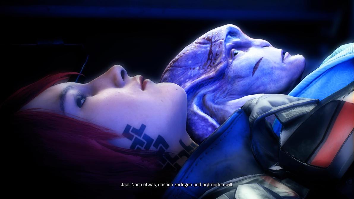 Mass Effect Andromeda - JaalxRyder by JulyShepard1995