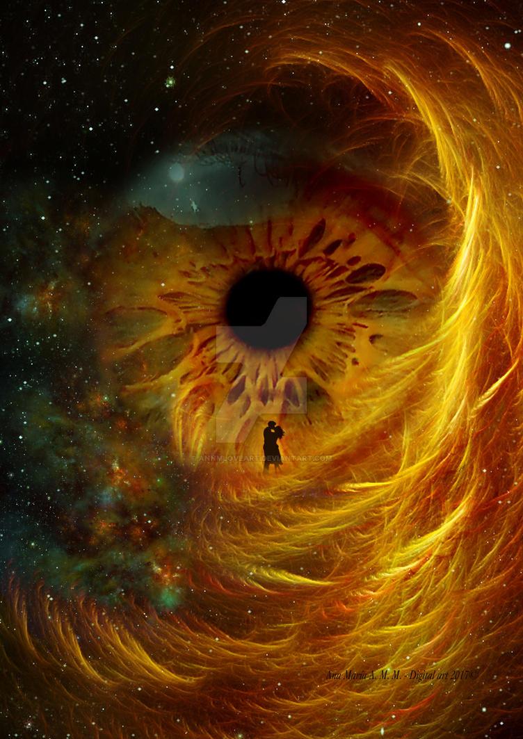 Nebula love by AnnMLoveArt