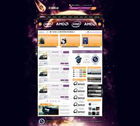 SK Gaming - layout training by trkwebdesign