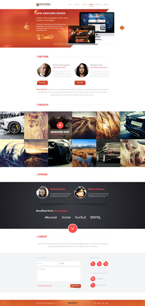 B3Studio - WordPress - For Sale