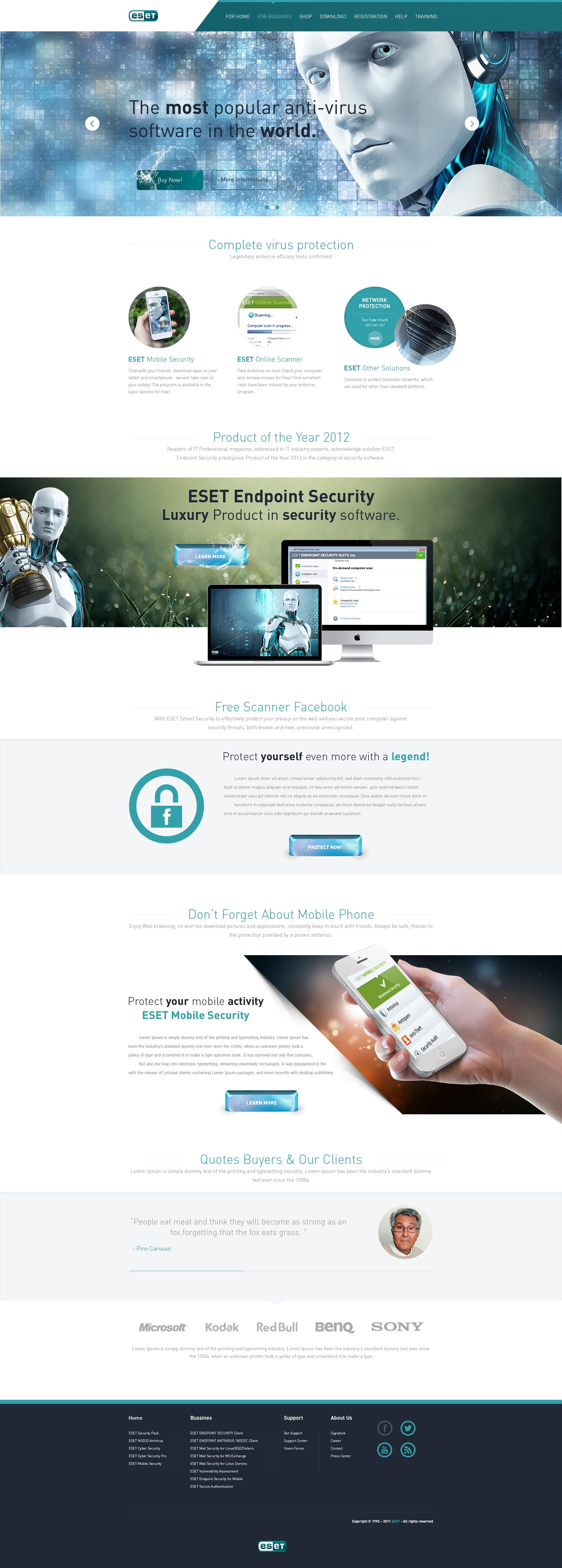 ESET AntiVirus - For Sale! by trkwebdesign