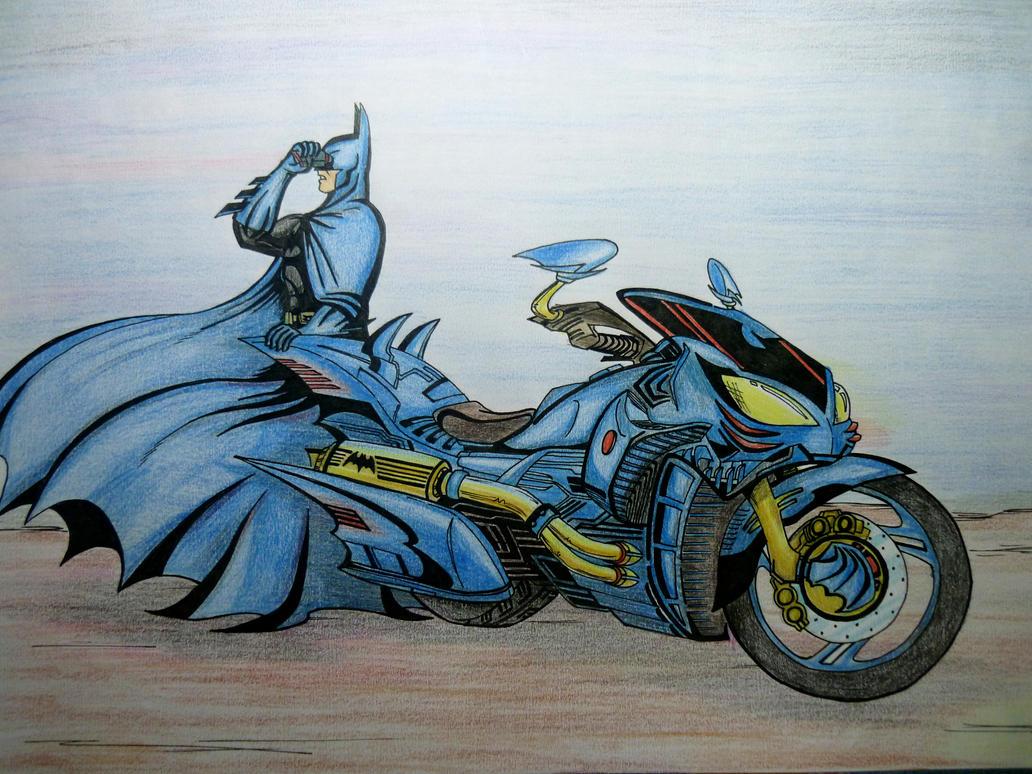 Bat's Bike by ajithm