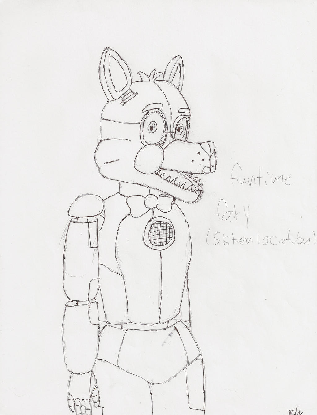 Funtime foxy! by candy-coated-llamas