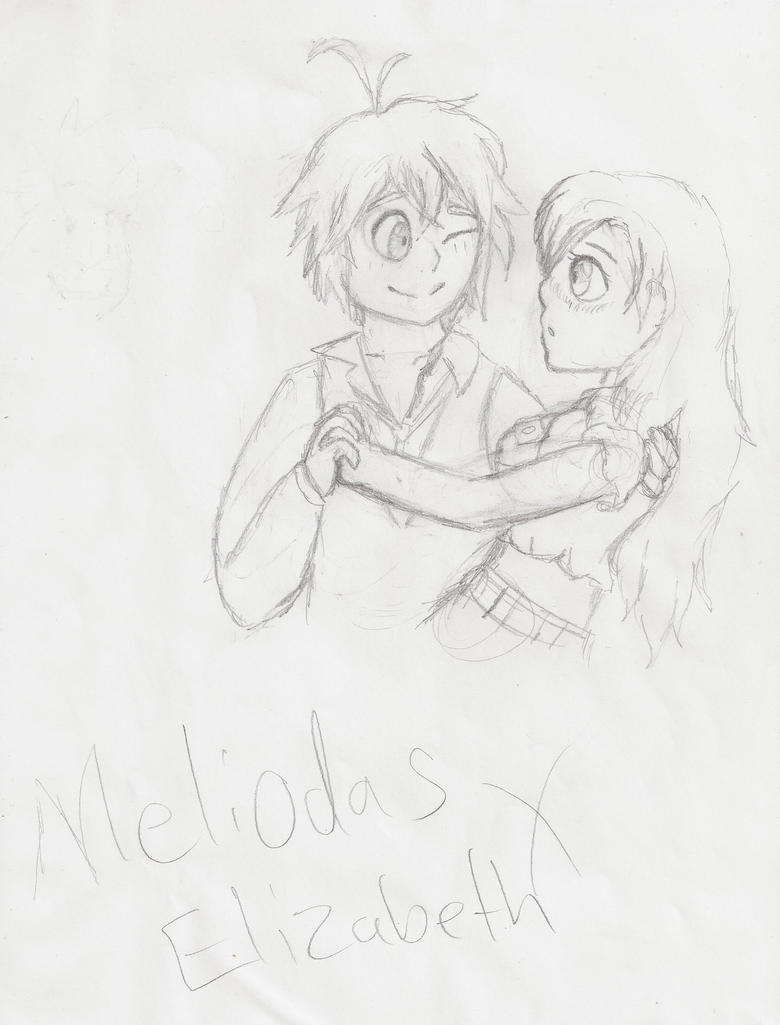 Meliodas X Elizabeth by candy-coated-llamas