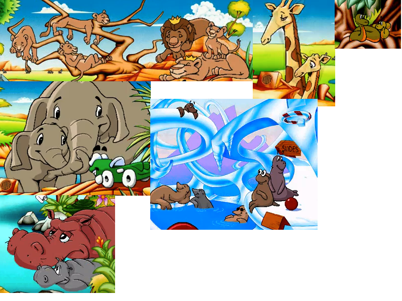 Putt Putt Saves The Zoo : Baby animals reunited in putt saves the zoo by